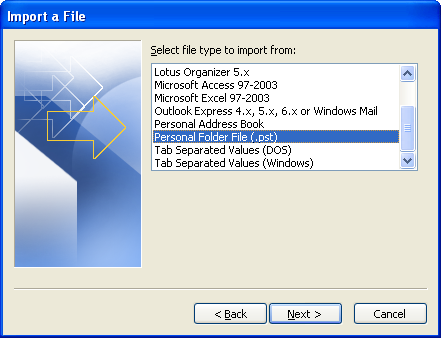 how to create lst file