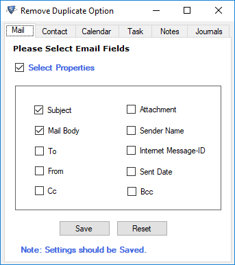 remove duplicate emails